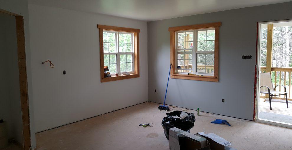 Fensterrahmen selbst gemacht