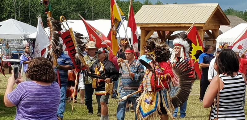 Powwow in Basthurst